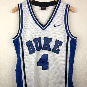 NIKE DUKE BLUE DEVILS #4 Jersey Sz Small Rare